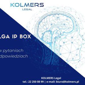 Ulga IP BOX w pytaniach i odpowiedziach